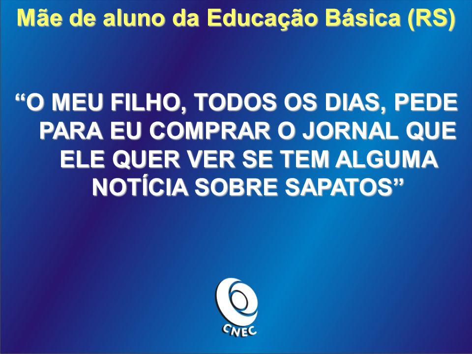 Mãe de aluno da Educação Básica (RS)