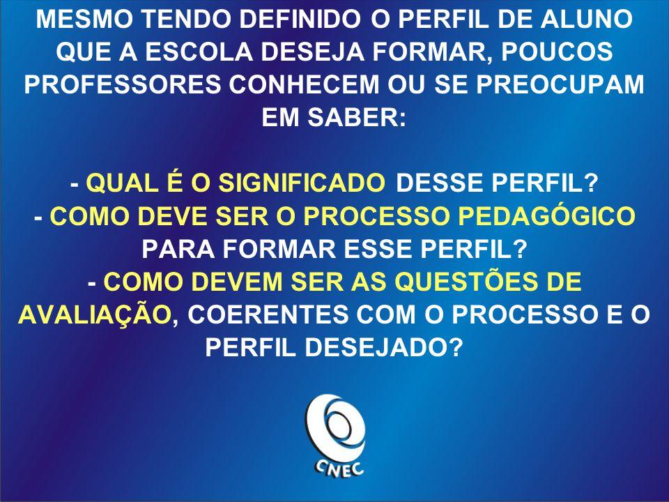 - QUAL É O SIGNIFICADO DESSE PERFIL