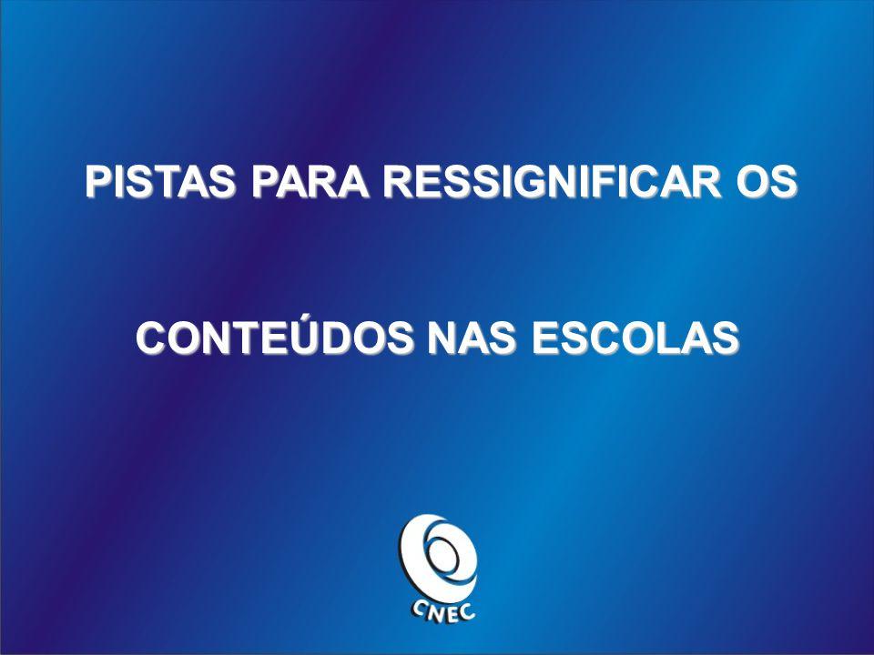 PISTAS PARA RESSIGNIFICAR OS