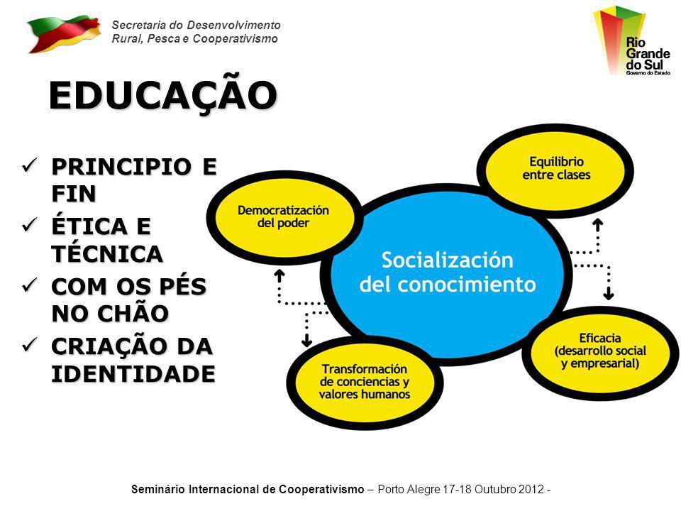 EDUCAÇÃO PRINCIPIO E FIN ÉTICA E TÉCNICA COM OS PÉS NO CHÃO