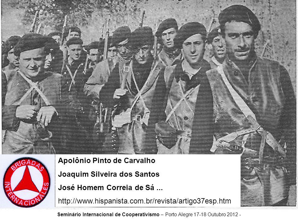 Apolônio Pinto de Carvalho Joaquim Silveira dos Santos