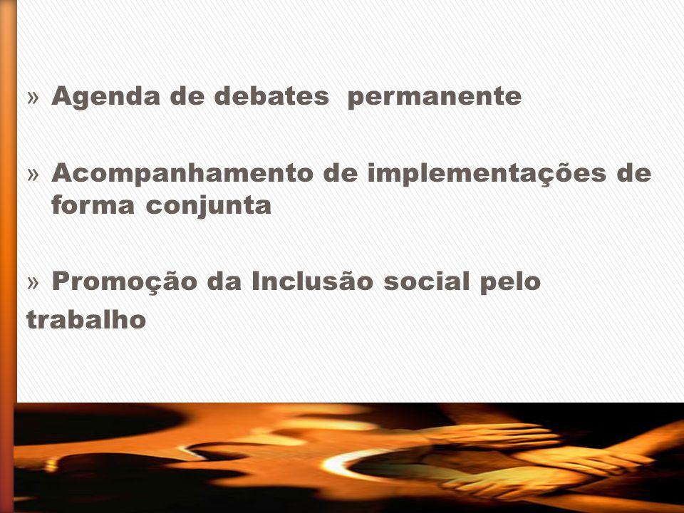 Agenda de debates permanente
