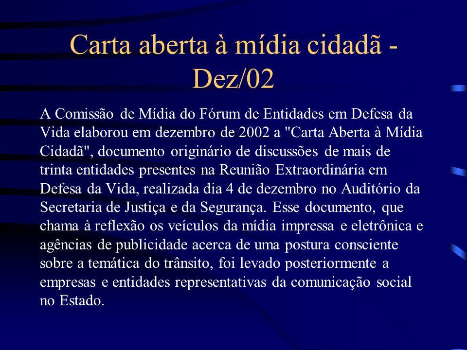 Carta aberta à mídia cidadã - Dez/02