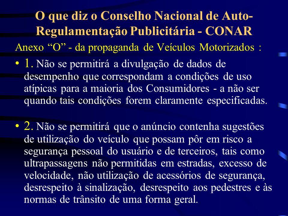 O que diz o Conselho Nacional de Auto-Regulamentação Publicitária - CONAR