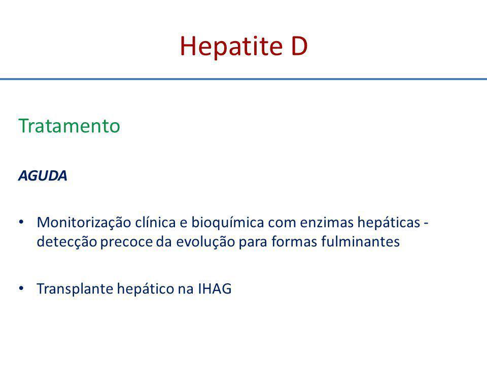 Hepatite D Tratamento AGUDA