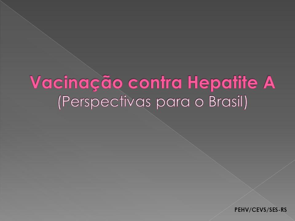 Vacinação contra Hepatite A (Perspectivas para o Brasil)