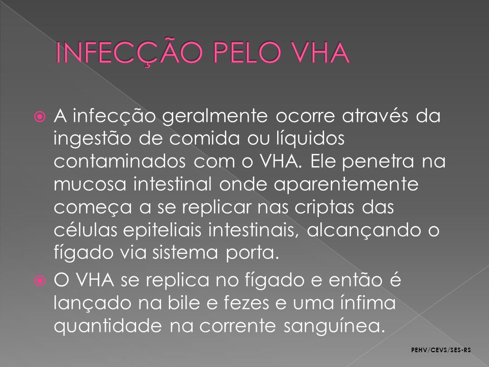 INFECÇÃO PELO VHA