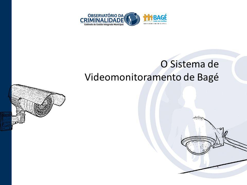 O Sistema de Videomonitoramento de Bagé