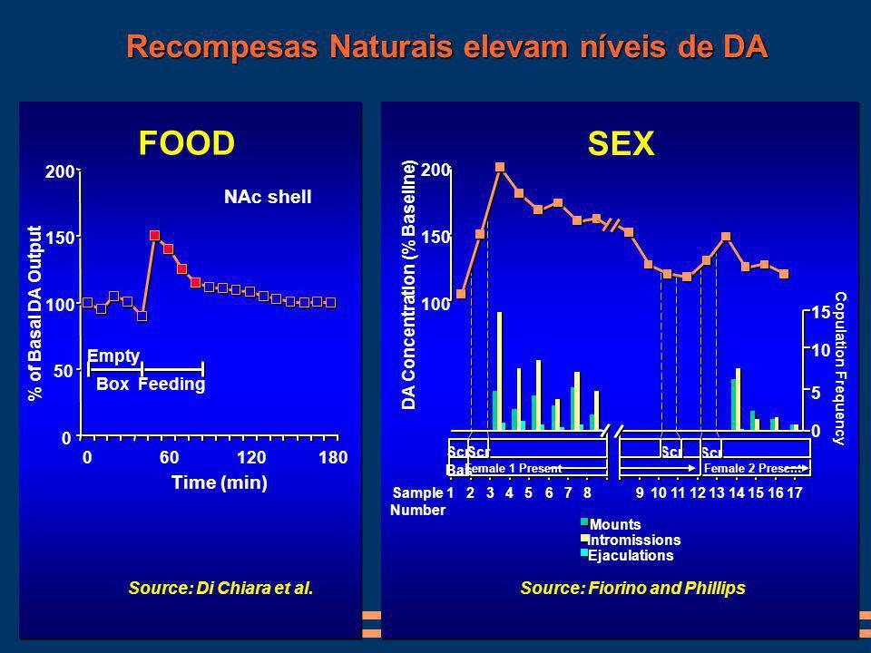 Recompesas Naturais elevam níveis de DA