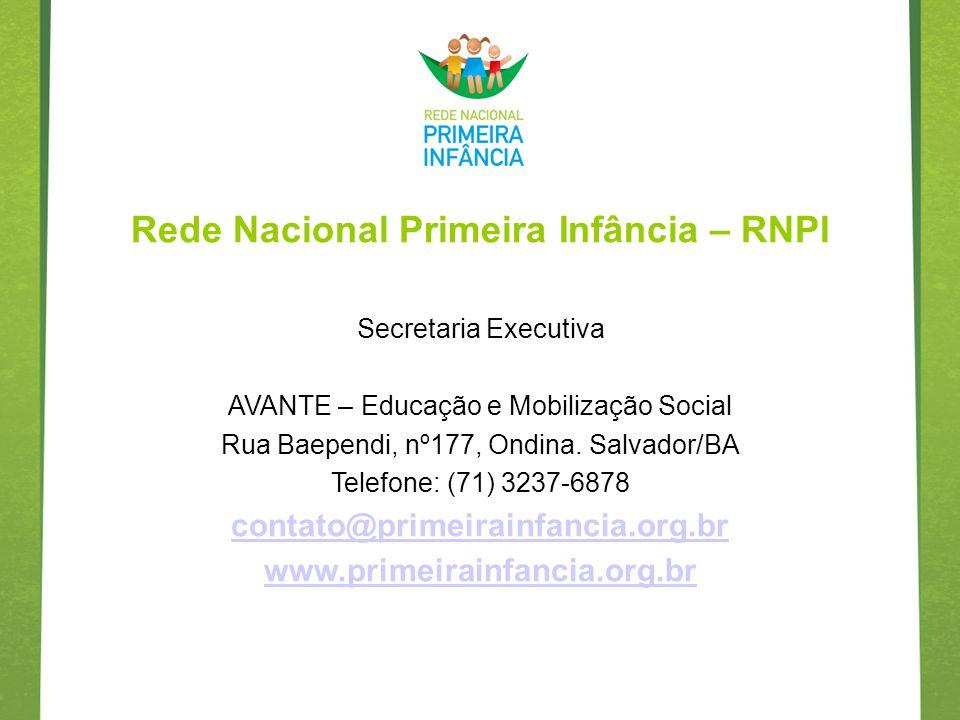 Rede Nacional Primeira Infância – RNPI