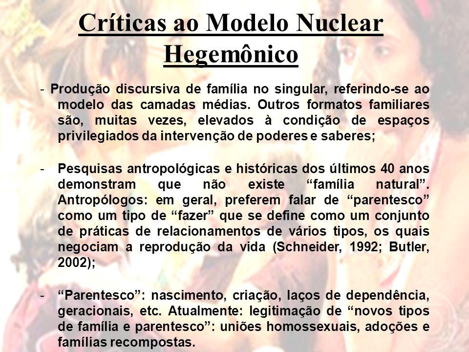 Críticas ao Modelo Nuclear Hegemônico