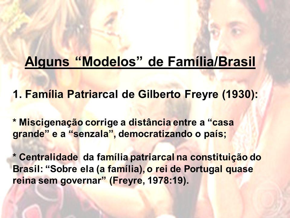 Alguns Modelos de Família/Brasil 1