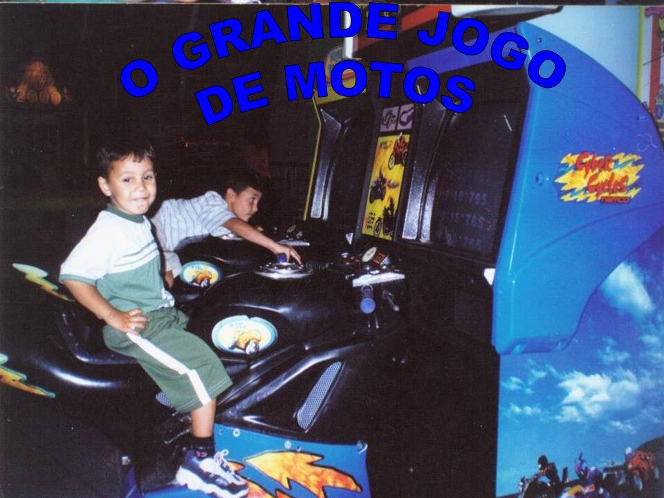 O GRANDE JOGO DE MOTOS