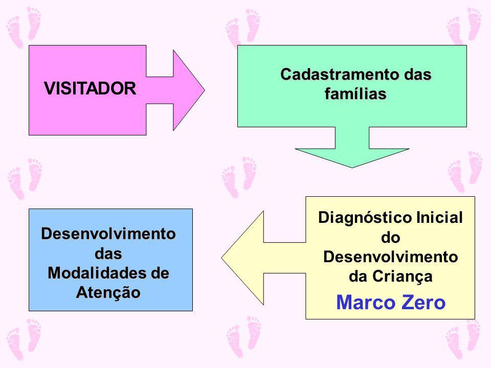 Marco Zero VISITADOR Cadastramento das famílias