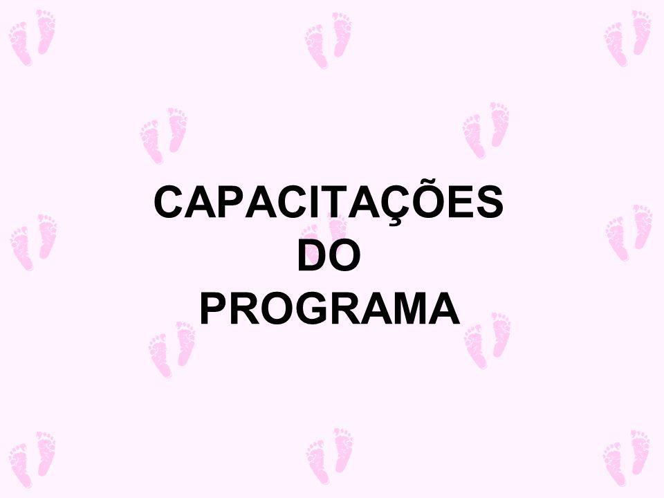 CAPACITAÇÕES DO PROGRAMA