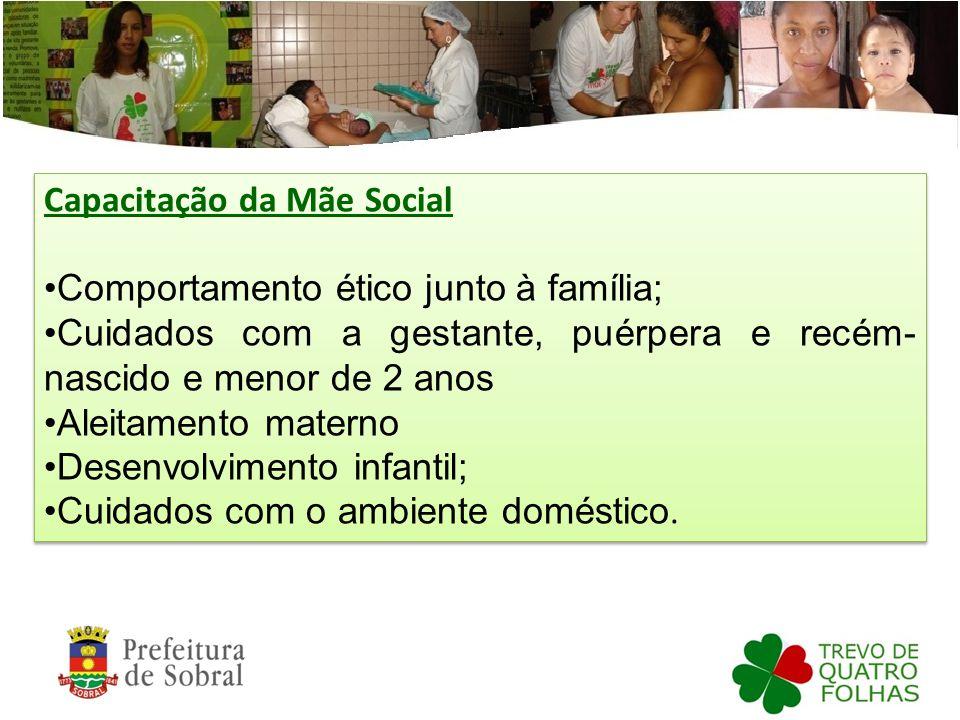 Capacitação da Mãe Social
