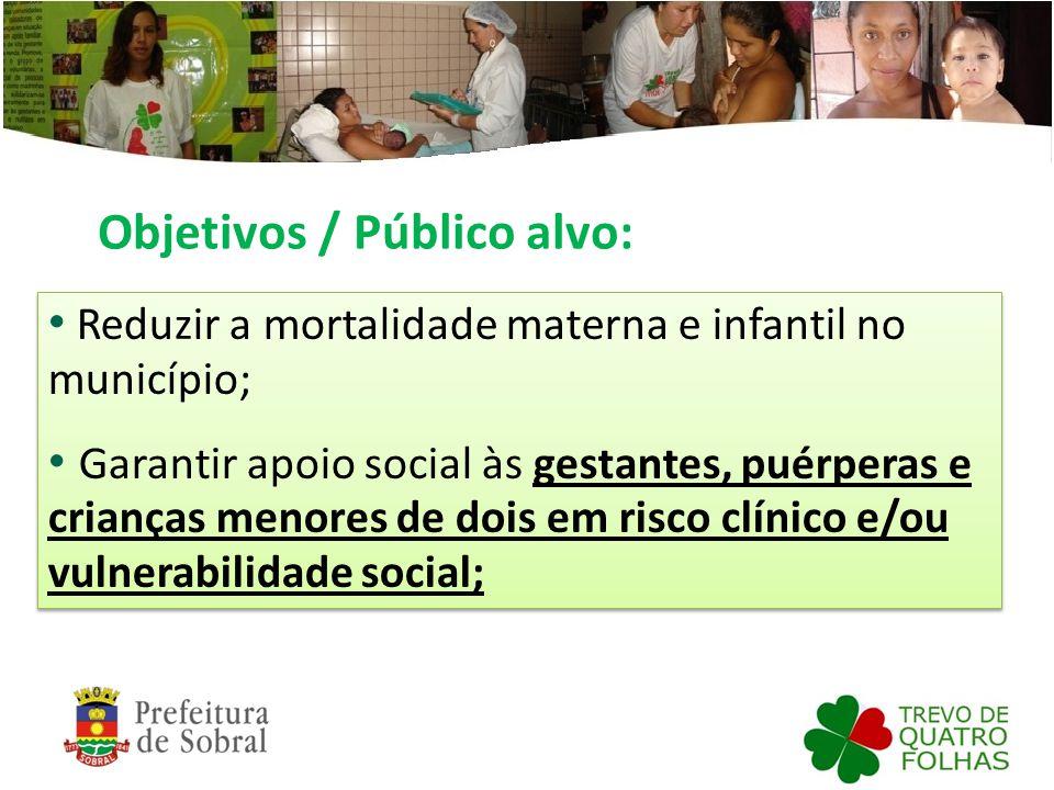 Objetivos / Público alvo: