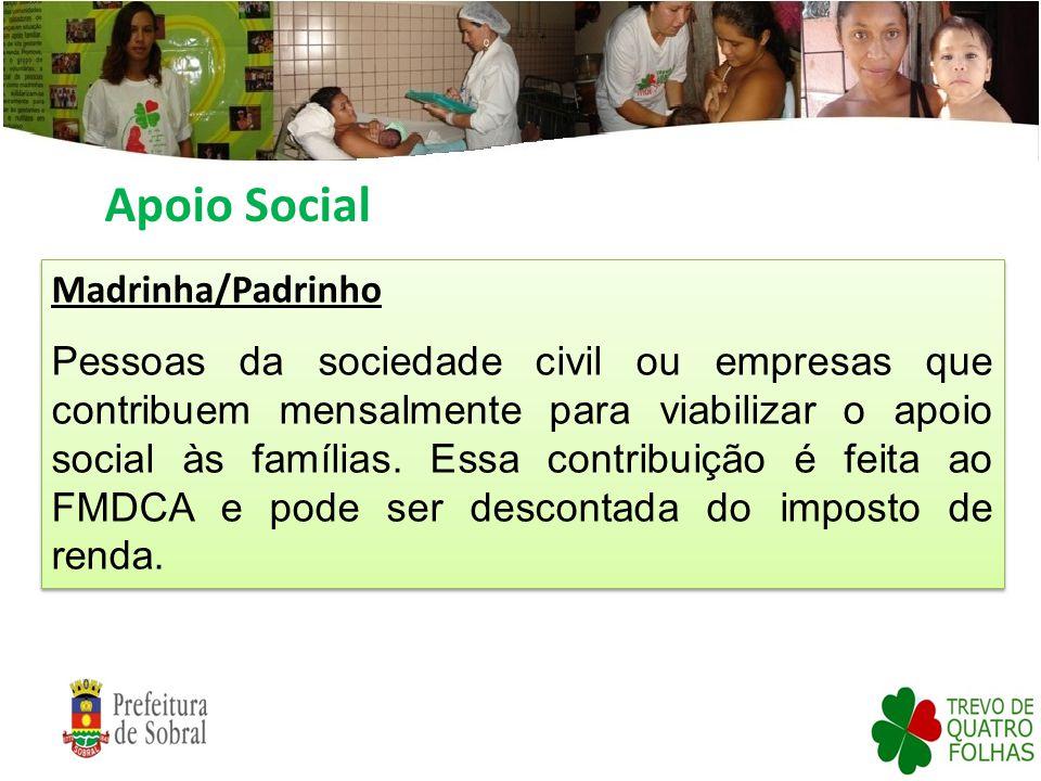 Apoio Social Madrinha/Padrinho
