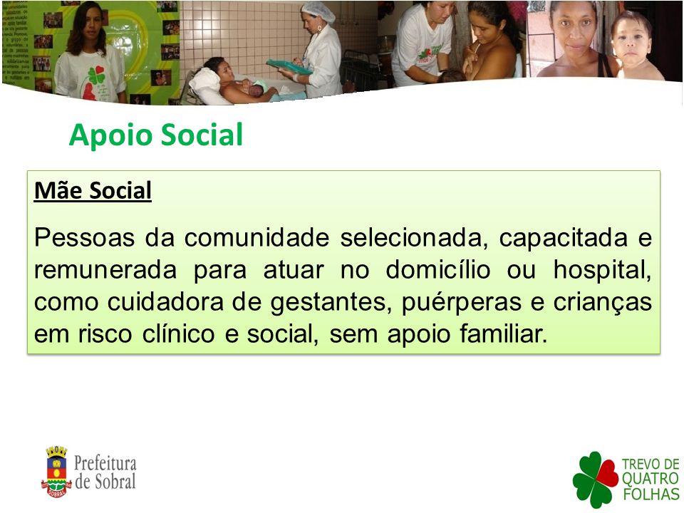 Apoio Social Mãe Social