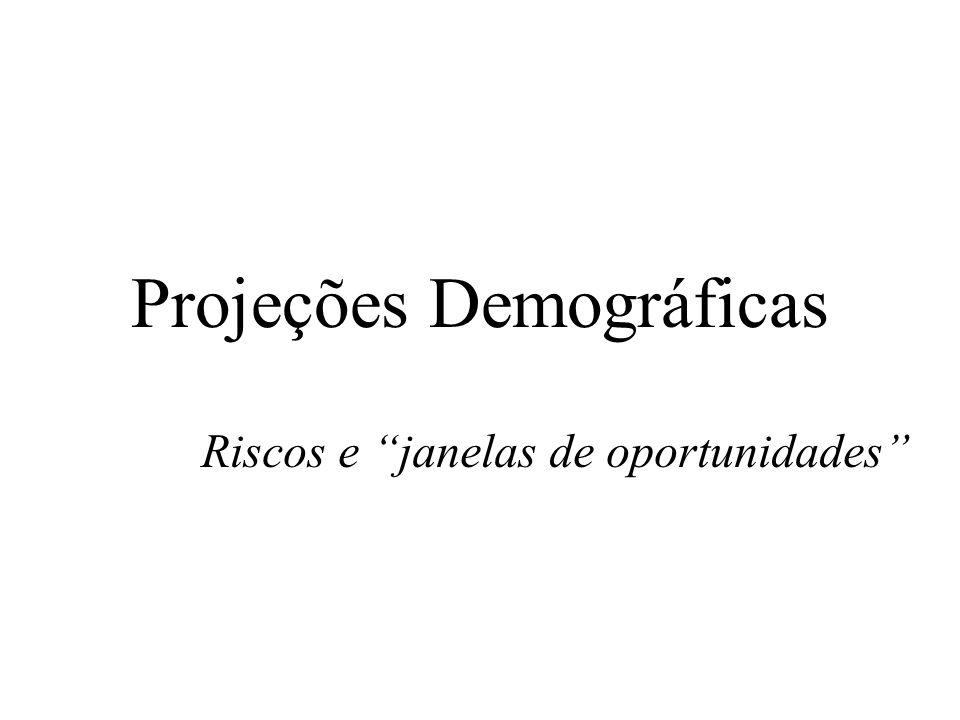 Projeções Demográficas