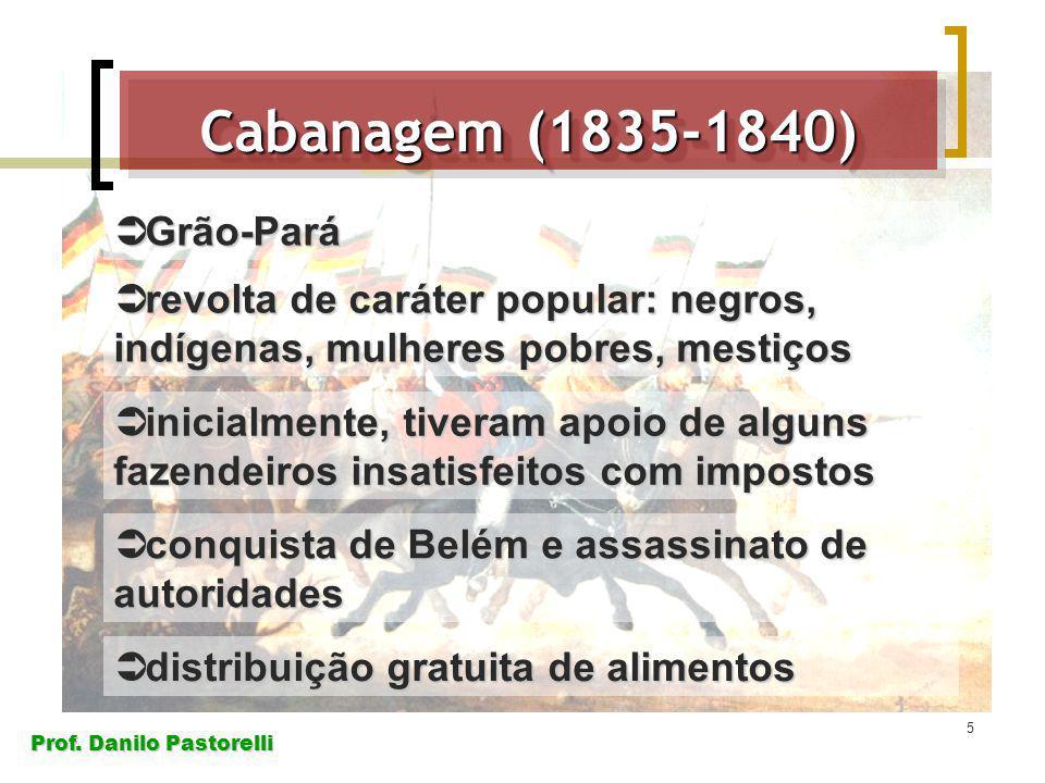 Cabanagem (1835-1840) Grão-Pará