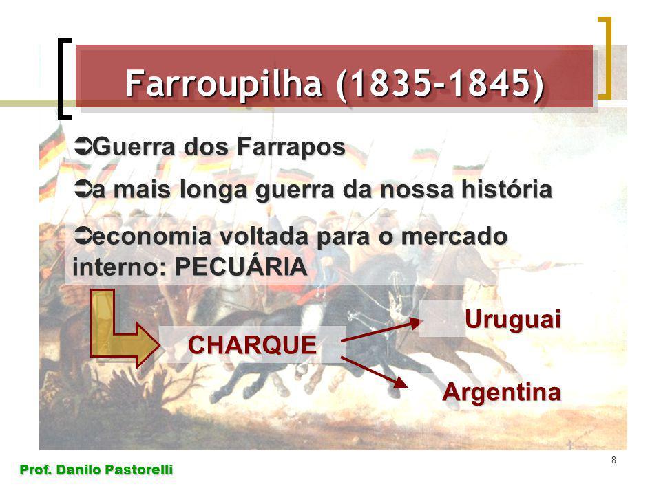 Farroupilha (1835-1845) Guerra dos Farrapos