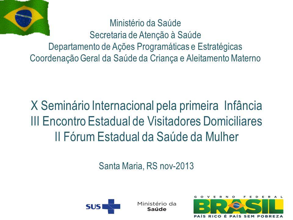 Ministério da Saúde Secretaria de Atenção à Saúde. Departamento de Ações Programáticas e Estratégicas.