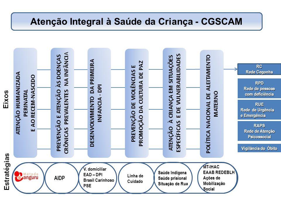Atenção Integral à Saúde da Criança - CGSCAM