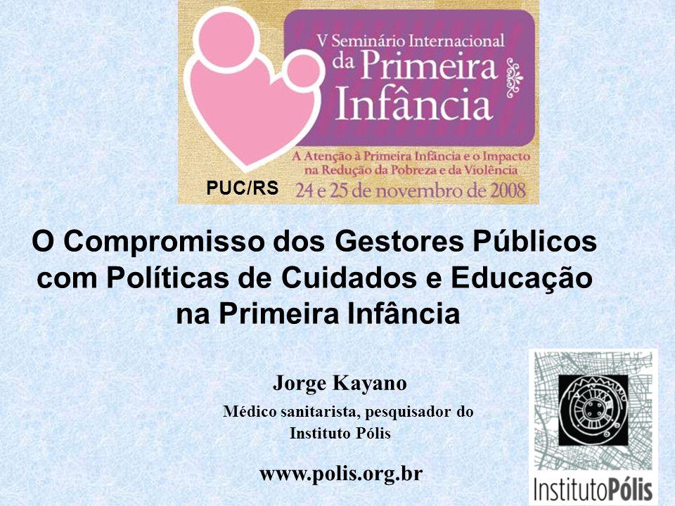 O Compromisso dos Gestores Públicos