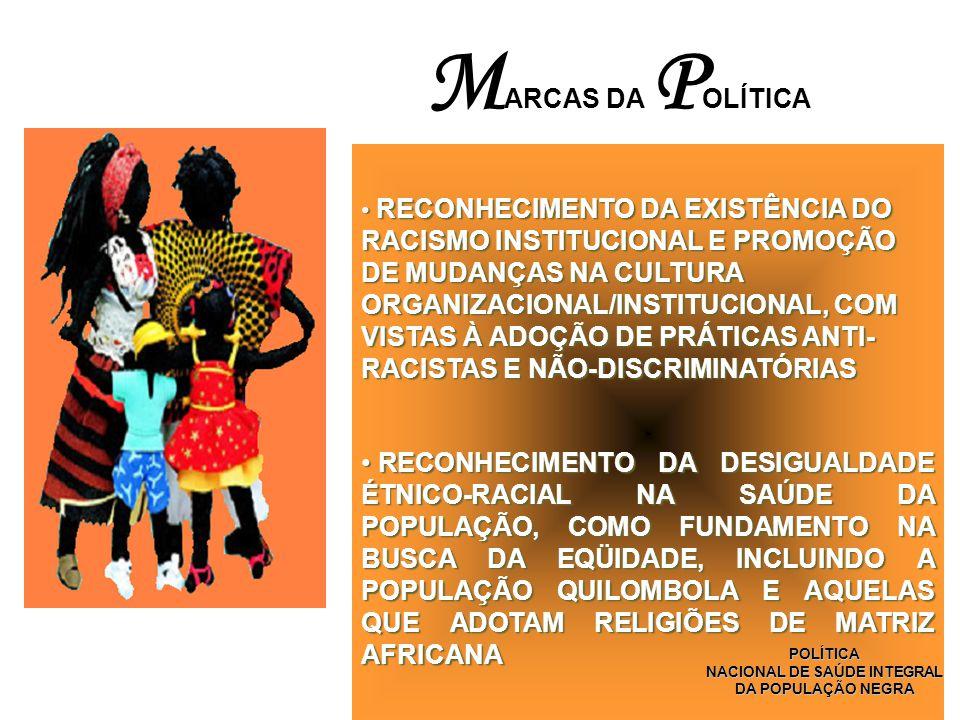 NACIONAL DE SAÚDE INTEGRAL DA POPULAÇÃO NEGRA