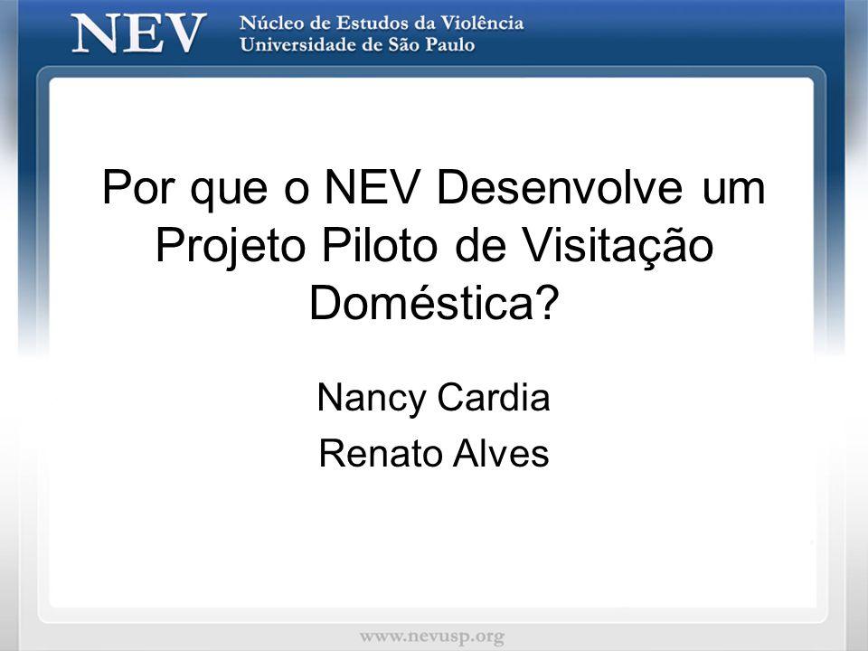Por que o NEV Desenvolve um Projeto Piloto de Visitação Doméstica