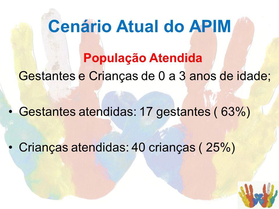 Cenário Atual do APIM População Atendida