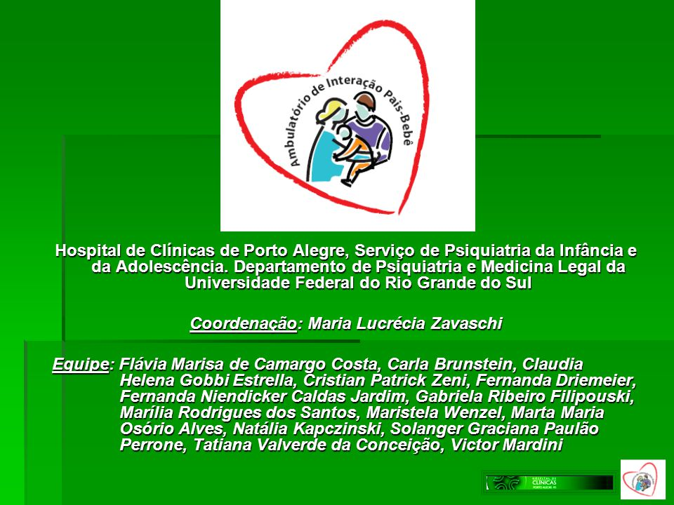 Coordenação: Maria Lucrécia Zavaschi