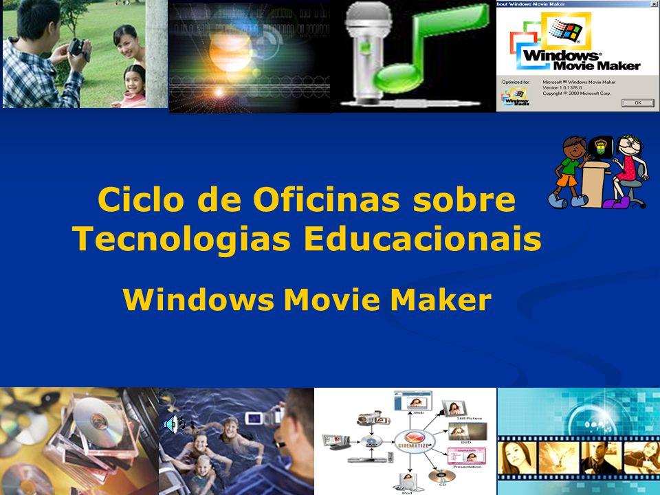 Ciclo de Oficinas sobre Tecnologias Educacionais