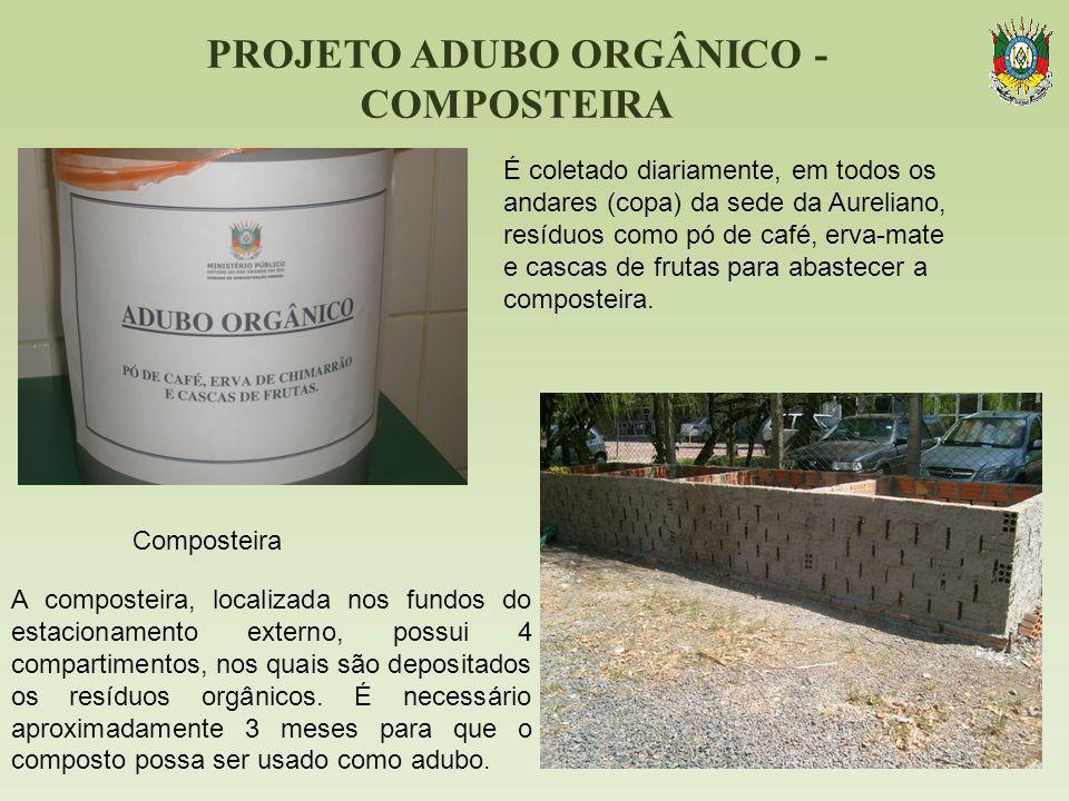 PROJETO ADUBO ORGÂNICO - COMPOSTEIRA