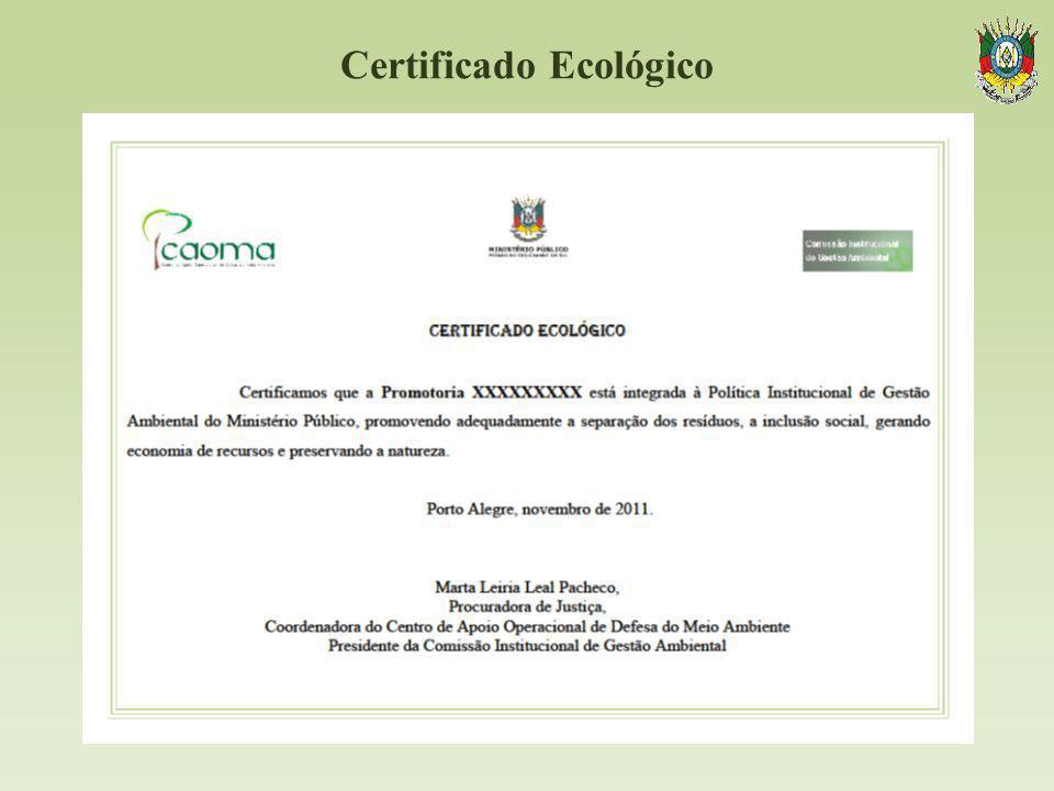 Certificado Ecológico