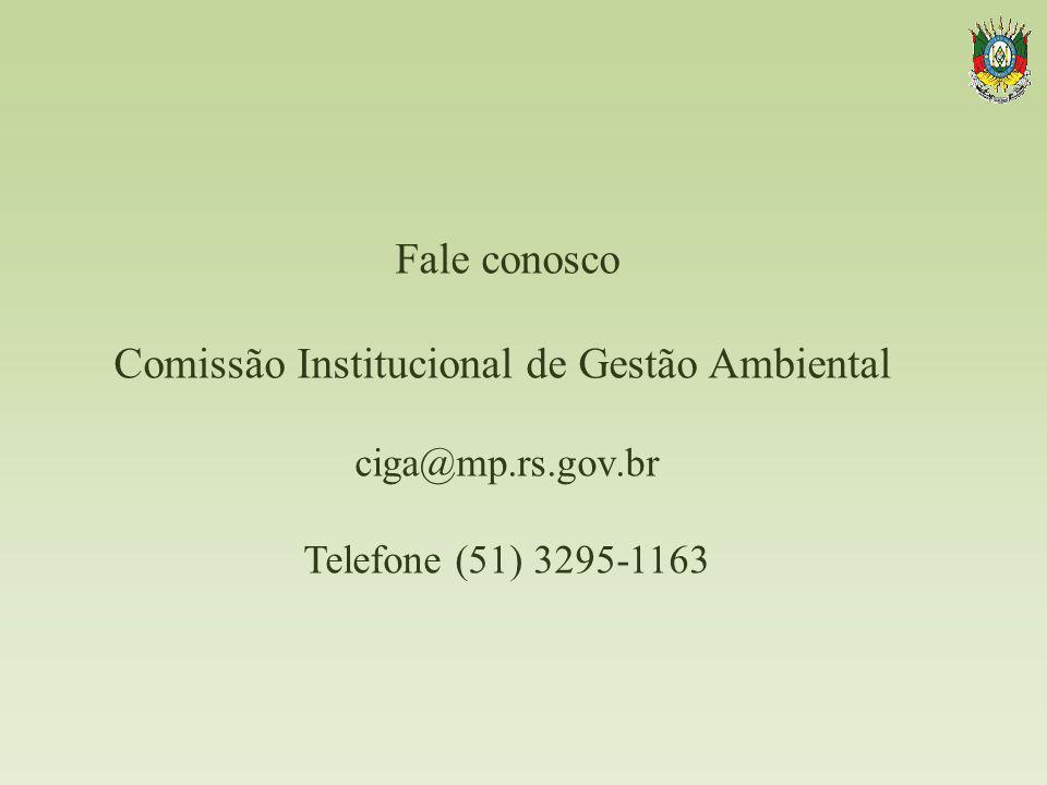 Comissão Institucional de Gestão Ambiental