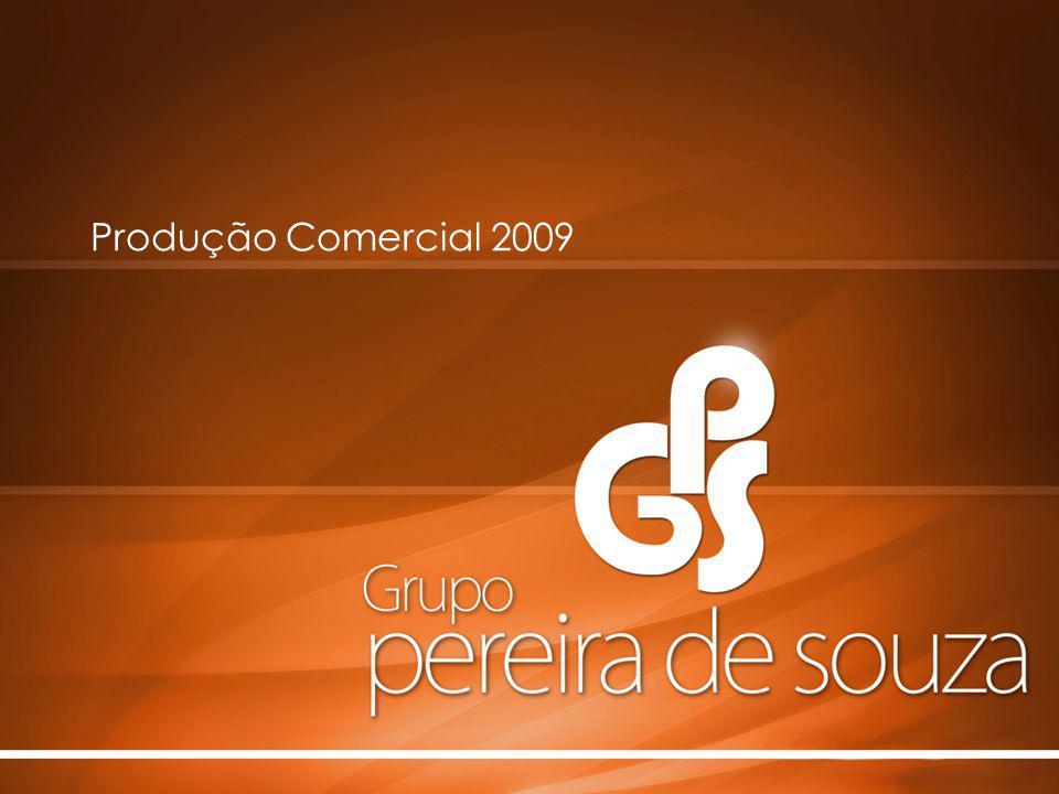 Produção Comercial 2009 t