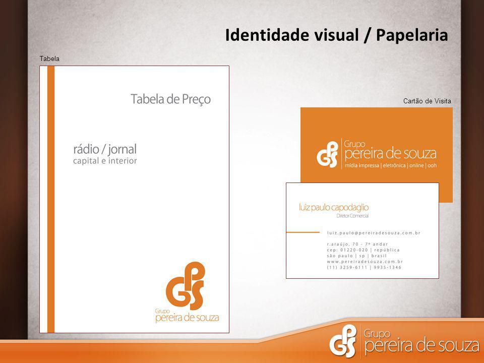 Identidade visual / Papelaria
