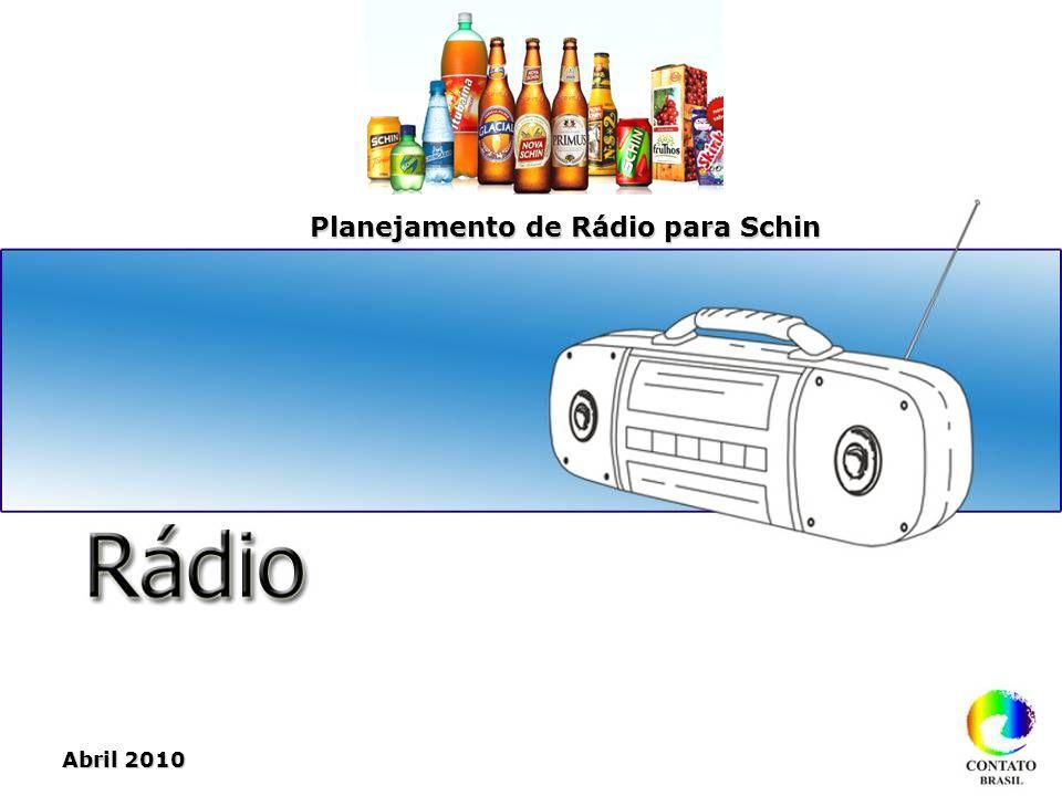 Planejamento de Rádio para Schin