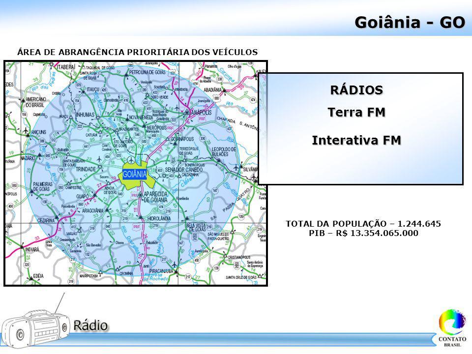 Goiânia - GO RÁDIOS Terra FM Interativa FM