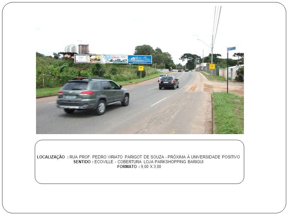 SENTIDO : ECOVILLE - COBERTURA LOJA PARKSHOPPING BARIGUI
