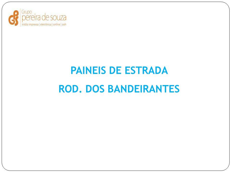 PAINEIS DE ESTRADA ROD. DOS BANDEIRANTES