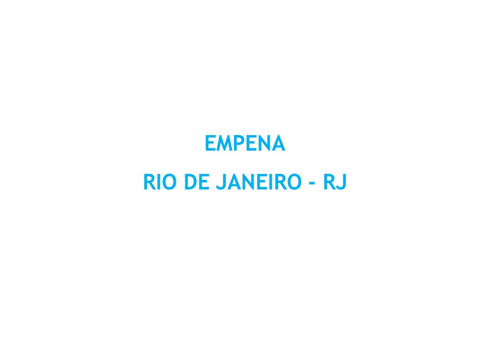 EMPENA RIO DE JANEIRO - RJ