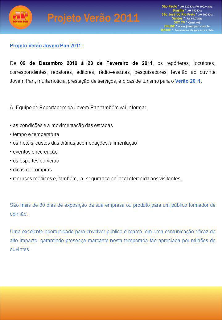 Projeto Verão Jovem Pan 2011: