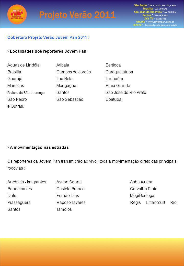 Cobertura Projeto Verão Jovem Pan 2011 :