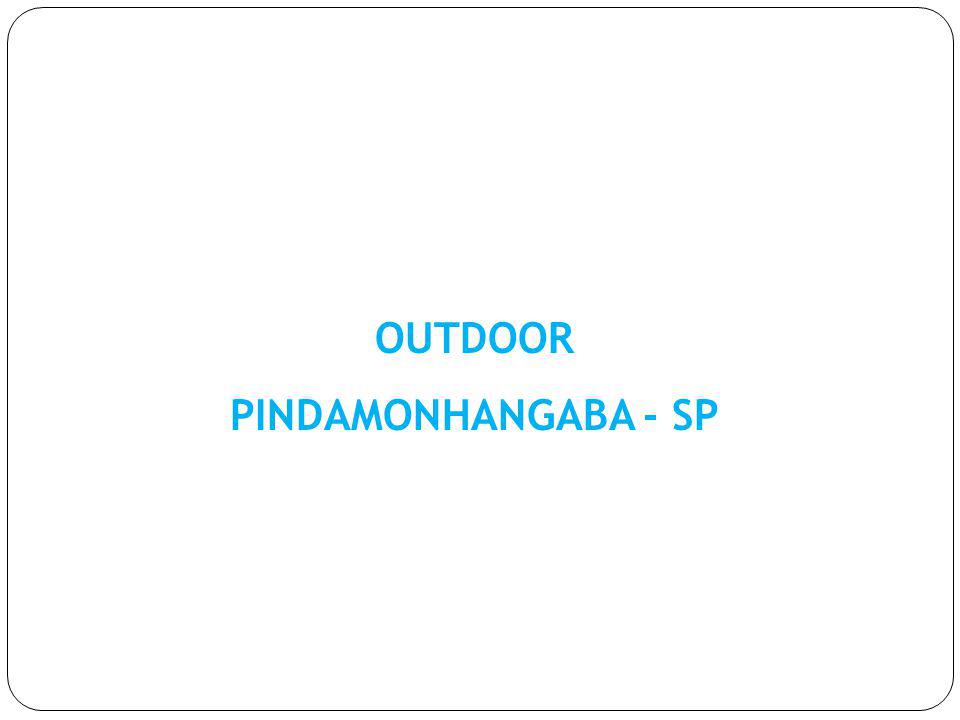 OUTDOOR PINDAMONHANGABA - SP