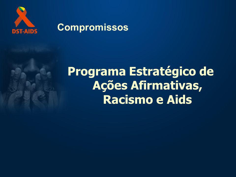 Programa Estratégico de Ações Afirmativas, Racismo e Aids