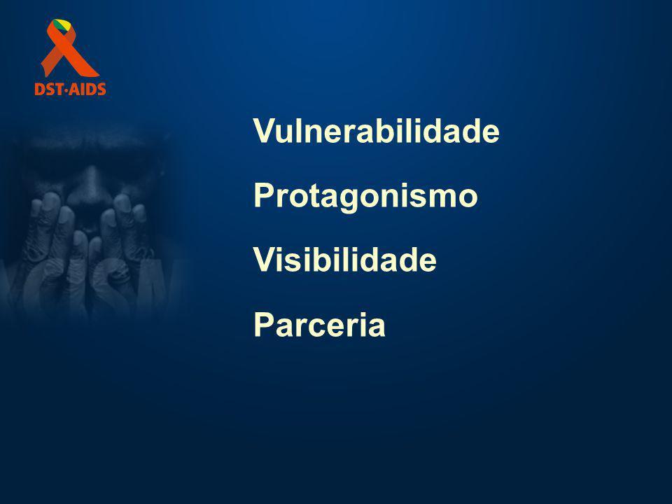 Vulnerabilidade Protagonismo Visibilidade Parceria