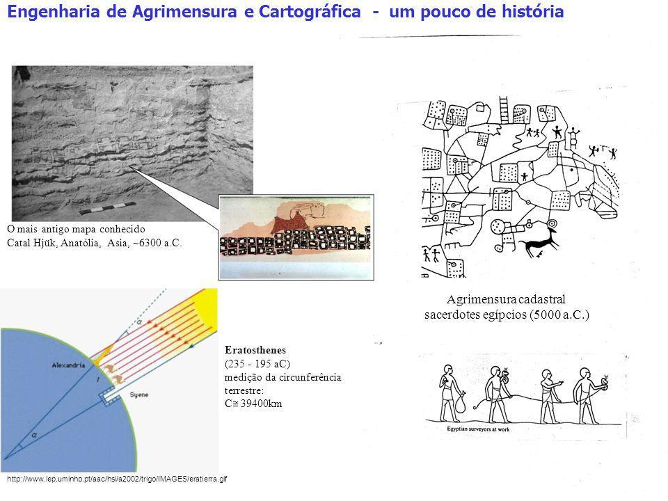 Engenharia de Agrimensura e Cartográfica - um pouco de história